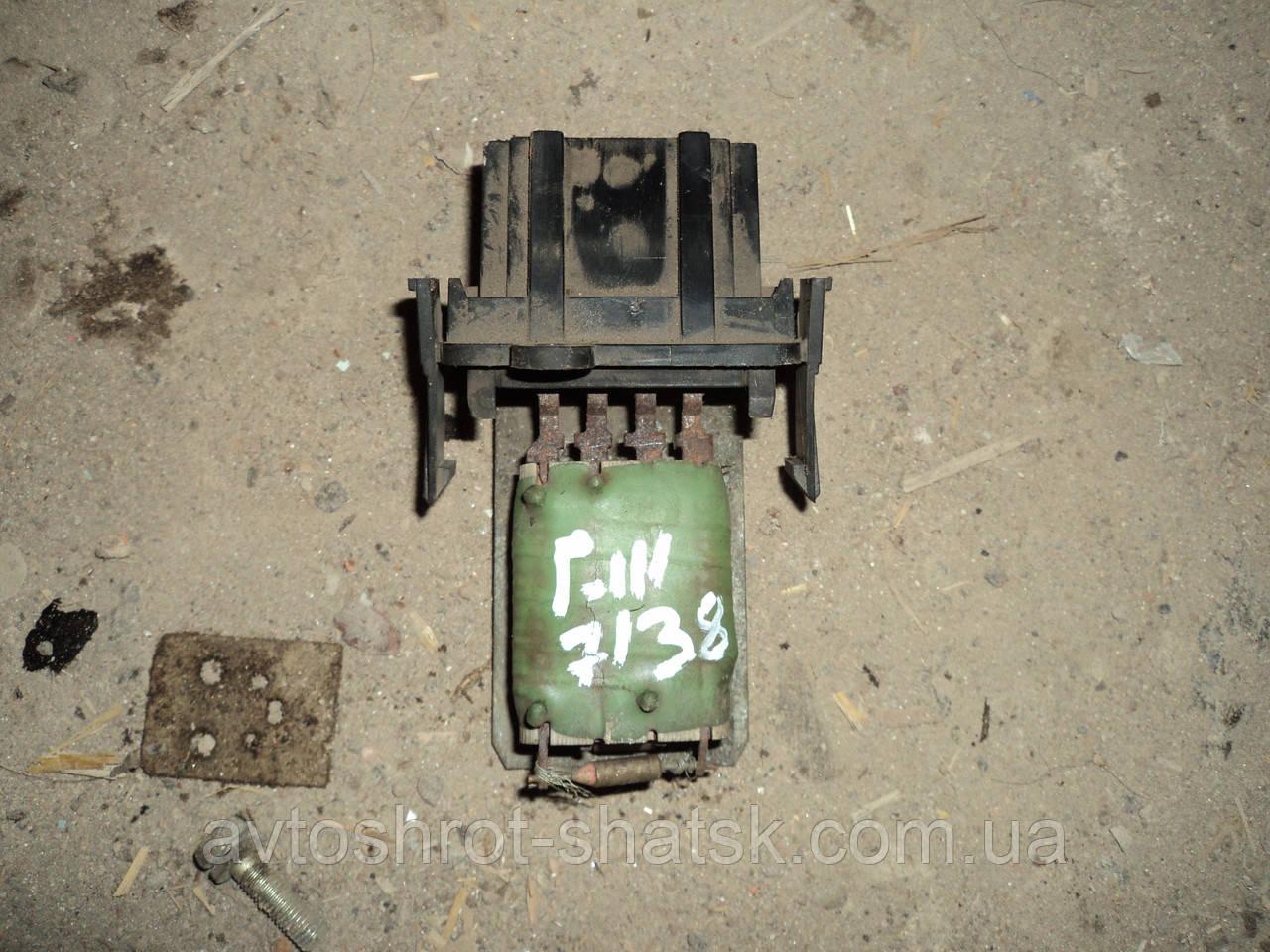 Б/У реостат,резистор печки гольф 3