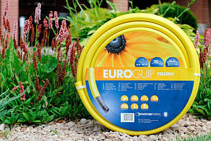 Шланг садовый Tecnotubi Euro Guip Yellow для полива диаметр 3/4 дюйма, длина 50 м (EGY 3/4 50), фото 2