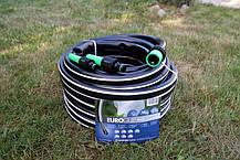 Шланг садовый Tecnotubi Euro Guip Black для полива диаметр 3/4 дюйма, длина 50 м (EGB 3/4 50), фото 3