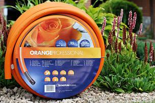 Шланг садовый Tecnotubi Orange Professional для полива диаметр 5/8 дюйма, длина 15 м (OR 5/8 15), фото 2