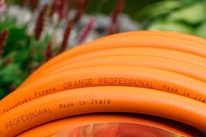 Шланг садовый Tecnotubi Orange Professional для полива диаметр 5/8 дюйма, длина 25 м (OR 5/8 25), фото 3