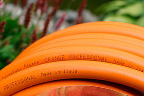 Шланг садовый Tecnotubi Orange Professional для полива диаметр 5/8 дюйма, длина 50 м (OR 5/8 50), фото 3