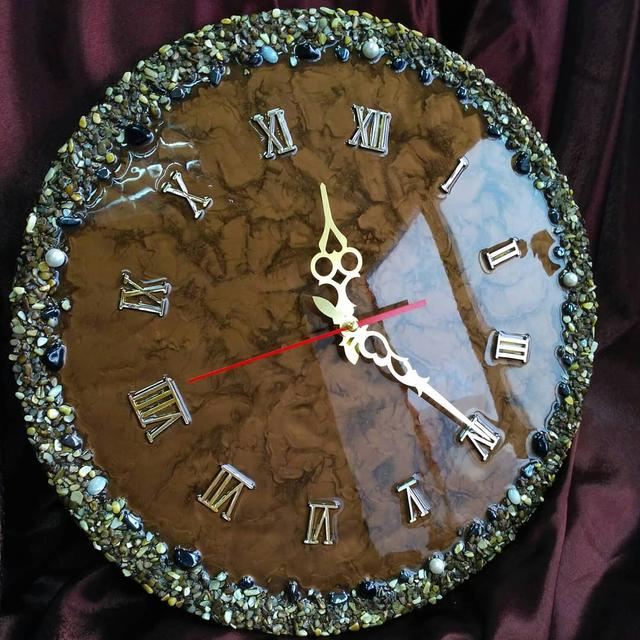 часы из эпоксидной смолы КЕ «Hobby-321»