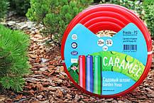 Шланг поливочный Presto-PS силикон садовый Caramel (красный) диаметр 3/4 дюйма, длина 30 м (SE-3/4 30), фото 2