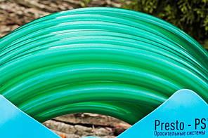 Шланг поливочный Presto-PS силикон садовый Caramel (зеленый) диаметр 3/4 дюйма, длина 50 м (CAR-3/4 50), фото 3