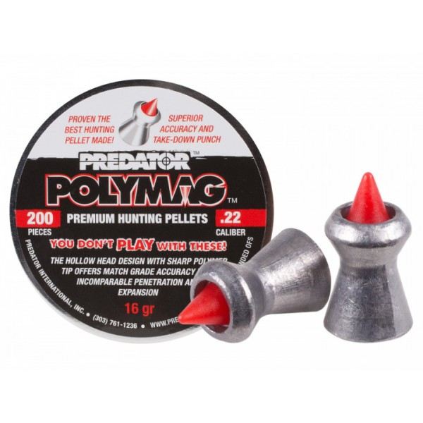 Пули пневм JSB Polymag, 5,5 мм , 1,03 г, 200 шт/уп