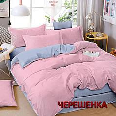 """Ткань для постельного белья Бязь """"Gold"""" Lux однотонная GLpink&gray (A+B) - (50м+50м)"""