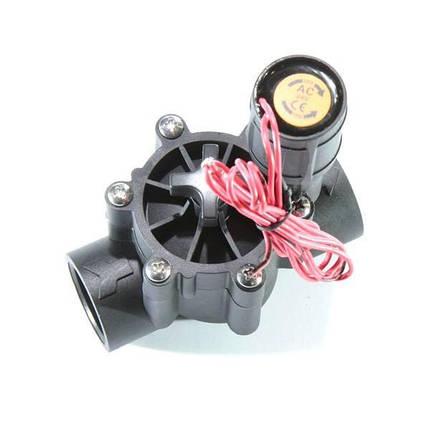 Клапан электромагнитный с регулировкой потока Presto-PS для систем капельного полива (7804), фото 2