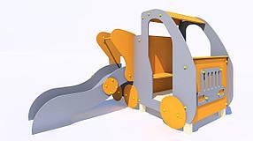 Дитяче ігрове обладнання «Машинка з гіркою»