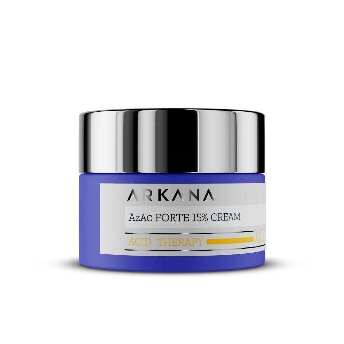 Крем на основе 15% азелаиновой кислоты Azac Forte 15% Cream Arkana 50 мл
