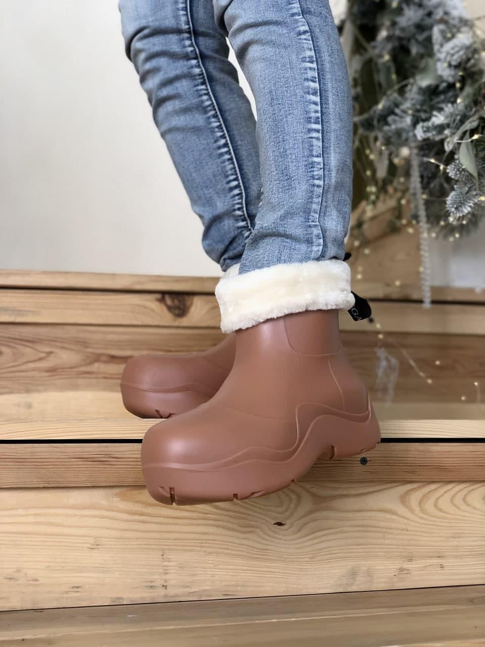 Женские ботинки Bottega Veneta  Puddle зима, демисезон (копия)