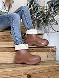 Женские ботинки Bottega Veneta  Puddle зима, демисезон (копия), фото 5