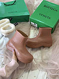 Женские ботинки Bottega Veneta  Puddle зима, демисезон (копия), фото 9