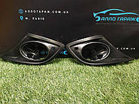 Накладки противотуманных фар (под парктроник) Renault Megane 3 (2012-2014) Оригинал 620720985R Рено Меган 3
