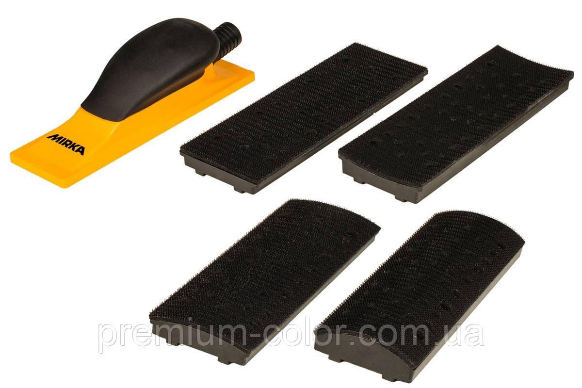 Шліфувальний блок Mirka в наборі 70x198mm Grip 40H Yellow