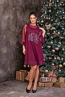 Сукня подвійне з сіткою 48-56 рр. Батал