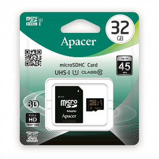 Micro SD Apacer 32GB class 10 + adapter