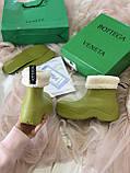 Женские ботинки Bottega Veneta  Puddle зима, демисезон (копия), фото 8