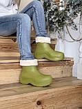 Женские ботинки Bottega Veneta  Puddle зима, демисезон (копия), фото 10