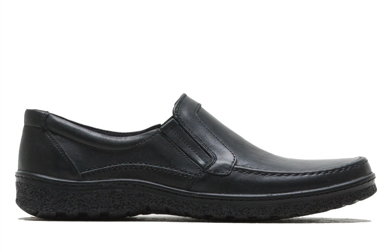 Мужские кожаные туфли Trafik City Style