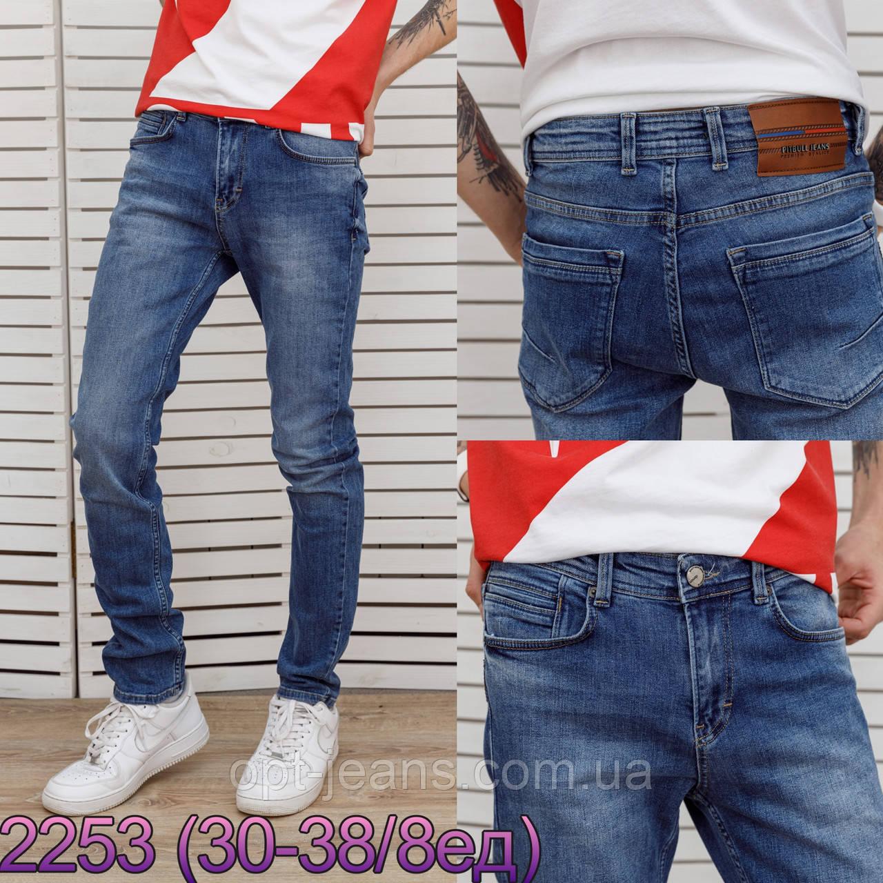 Pitbull мужские джинсы (30-38/8шт.)