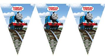 """Паравозик Томас"" - Вымпел, 10 флажков."