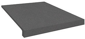 Резиновая лестница (накладки на ступени) PuzzleGym 500х500х20 мм темно-серый