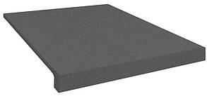 Сходи гумові (накладки на сходи) PuzzleGym 500х500х20 мм темно-серый