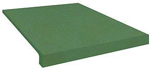 Резиновая лестница (накладки на ступени) PuzzleGym 500х500х20 мм зеленый