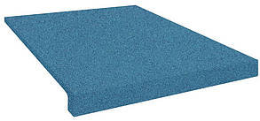 Сходи гумові (накладки на сходи) PuzzleGym 500х500х20 мм синий