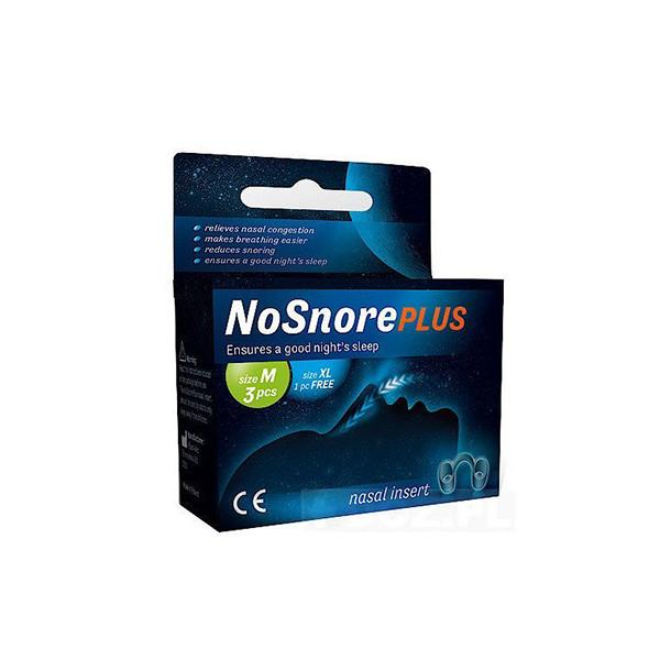Вставки в нос силиконовые от храпа NoSnore PLUS М/XL Omron