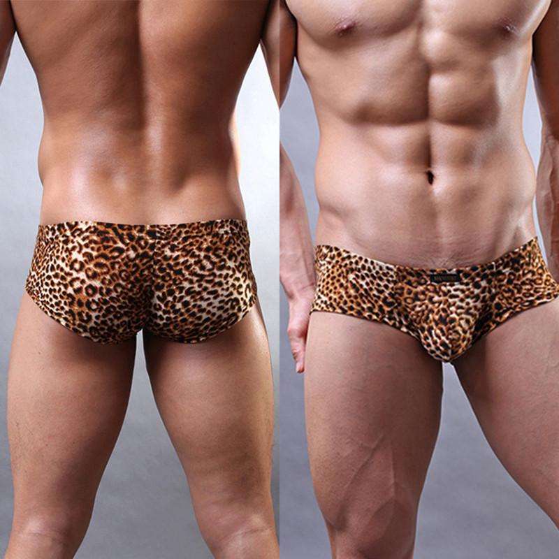 Мужские леопардовые боксеры