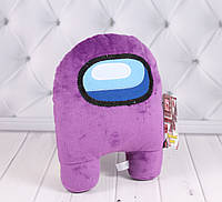 Мягкая игрушка Among us, фиолетовая, фото 1