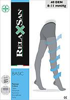 Компрессионные колготки прозрачные RelaxSan Basic 40 den Art.430
