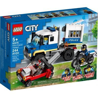 Конструктор LEGO City Police Полицейская машина для перевозки заключенных