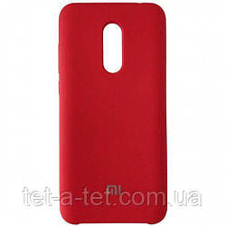 Silicone Color Cover Xiaomi Redmi 5 Plus Red