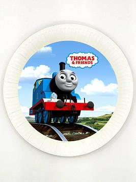 """""""Паравозик Томас"""" - Тарелочки 18 см."""