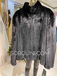 Куртка мужская из  норки на молнии, в наличии 54,56р