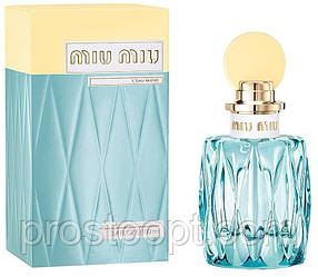 Женская парфюмерная вода Miu Miu L'Eau Bleue, 100 мл