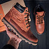 Мужские зимние кожаные ботинки Levis Expensive Fox (реплика), фото 9