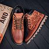 Мужские зимние кожаные ботинки Levis Expensive Fox (реплика), фото 10