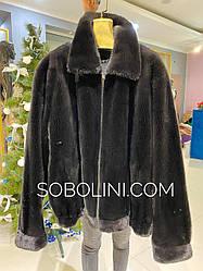 Куртка мужская, мех норка аукционная 54,56,58р