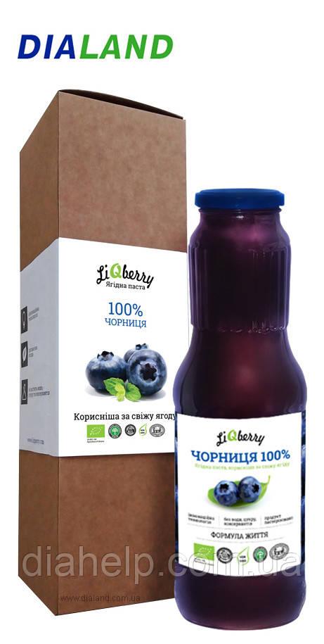 Черника 100% (черничная паста) - 1 литр