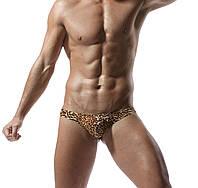 Чоловічі стрінги леопардові, фото 1