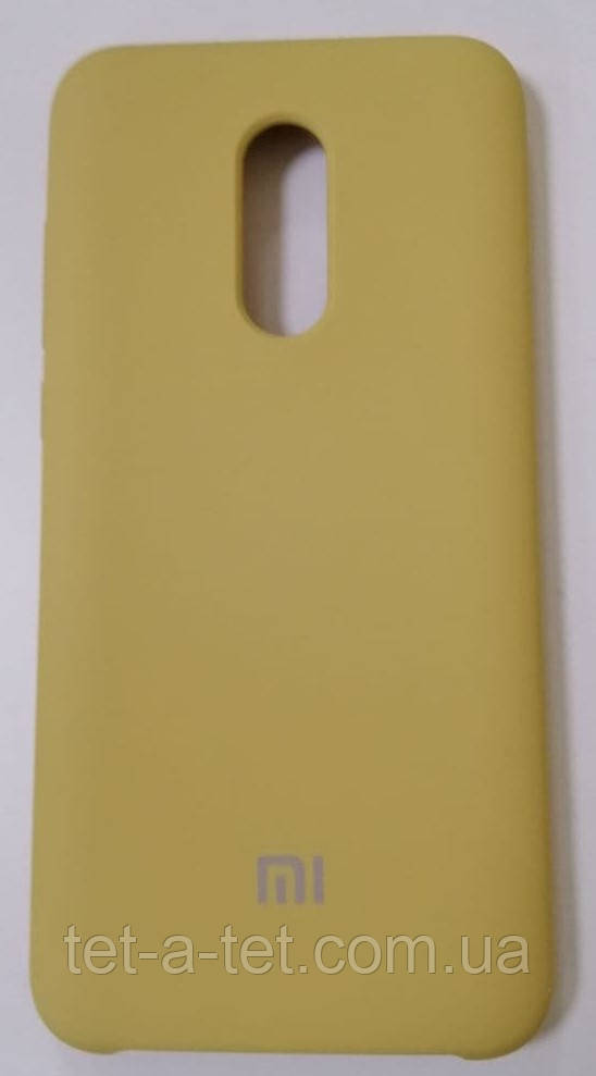 Silicone Color Cover Xiaomi Redmi 5 Plus Gold