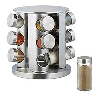 Набор для хранения специй Spice carousel, 12 емкостей с вращающейся подставкой, 12 емкостей, Набор для специй,