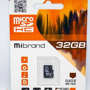 Micro SD Mibrand 32GB class 10 + adapter