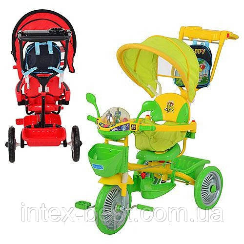 Трехколесный велосипед Profi Trike ET A18-9-2R (Красный)