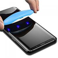 Защитное стекло 3D UV Curved для Samsung Galaxy S9 Plus (sm-g965) | с ультрафиолетовой лампой | DK