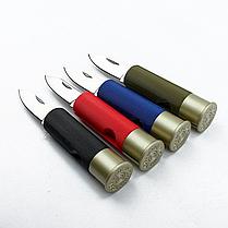 Туристический складной нож Ganzo со стальным лезвием Ганзо G624M-RD (красный), фото 2